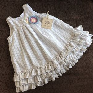 Sweet Laura Ashley dress with bloomers. NWT 24 mos